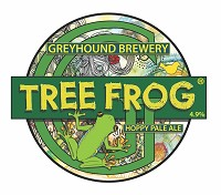 Greyhound Brewery - Tree Frog